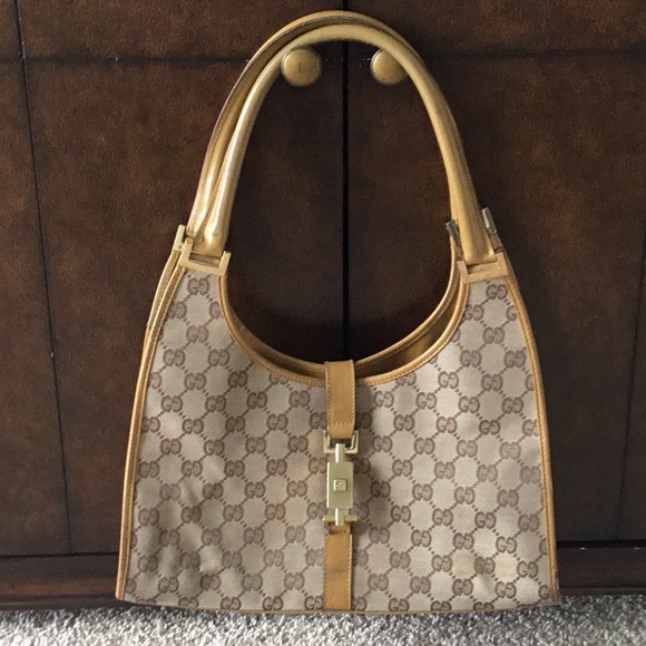 Gucci Handbags - Vintage Gucci GG Monogram Bag